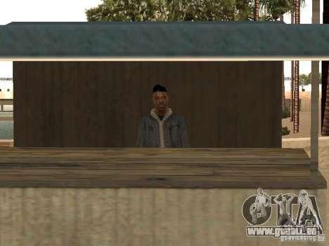 Marché sur la plage pour GTA San Andreas deuxième écran