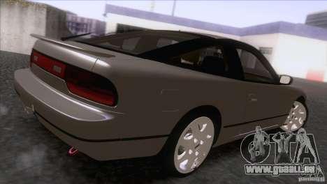 Nissan Sil80 für GTA San Andreas zurück linke Ansicht
