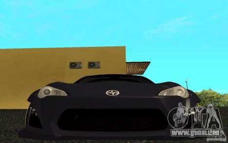 Scion FR-S pour GTA San Andreas laissé vue