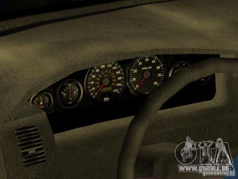HD Kuruma pour GTA San Andreas vue intérieure