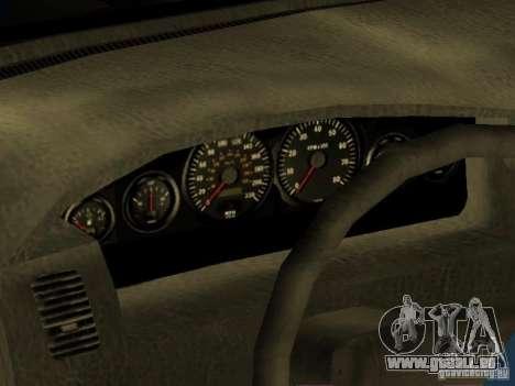 HD Kuruma für GTA San Andreas Innenansicht
