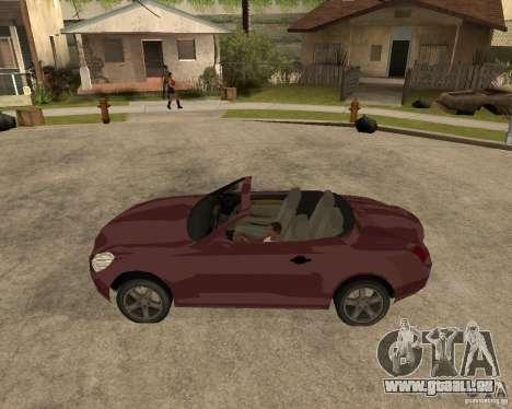 Lexus SC430 für GTA San Andreas linke Ansicht