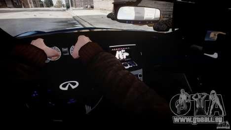 Infiniti G37 Coupe Sport pour GTA 4 est un côté