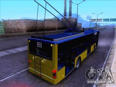 ElectroLAZ-12 für GTA San Andreas Innenansicht