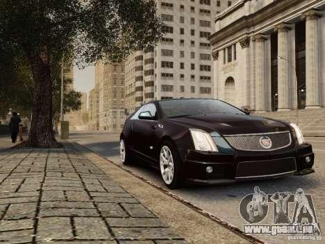 Cadillac CTS-V Coupe 2011 für GTA 4 rechte Ansicht