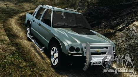 Chevrolet S-10 Colinas Cabine Dupla pour GTA 4