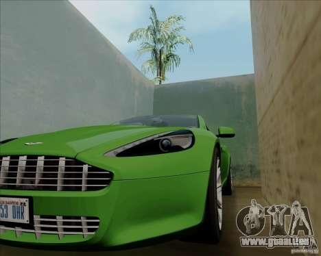 Aston Martin Rapide 2010 V1.0 für GTA San Andreas obere Ansicht