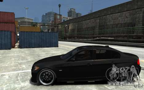 BMW 330i E60 Tuned 1 für GTA 4 linke Ansicht