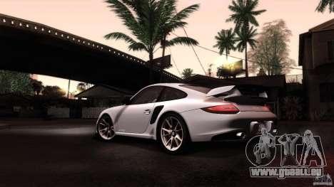 Porsche 911 GT2 RS 2012 pour GTA San Andreas vue de côté