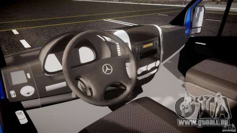 Mercedes-Benz ASM Sprinter Ambulance pour GTA 4 Vue arrière