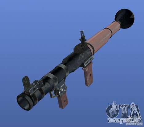 RPG Texture für GTA 4 Sekunden Bildschirm