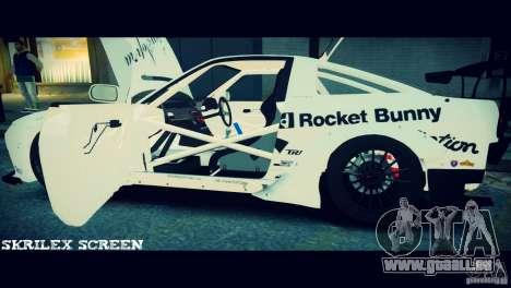 Nissan 380sx BenSpora pour GTA 4 vue de dessus