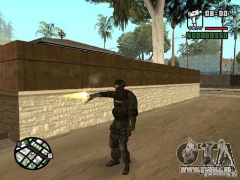 Commando de la SWAT 4 pour GTA San Andreas quatrième écran