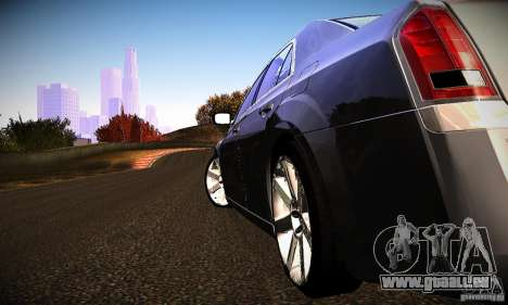 Chrysler 300c für GTA San Andreas rechten Ansicht