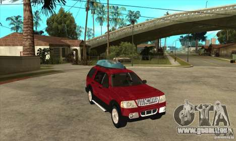 Ford Explorer 2004 pour GTA San Andreas vue arrière