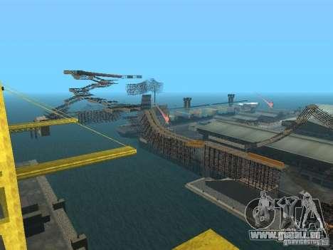 Huge MonsterTruck Track pour GTA San Andreas