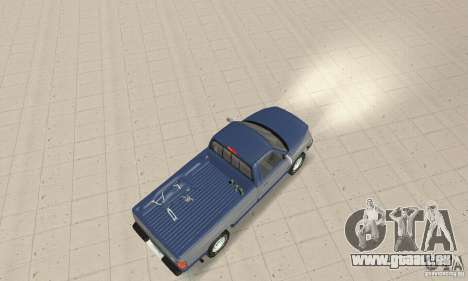 Dodge Ram 2500 1994 pour GTA San Andreas sur la vue arrière gauche
