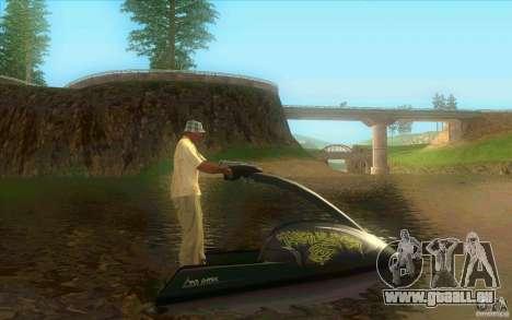 Thruster 87 pour GTA San Andreas laissé vue