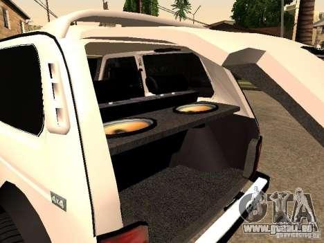 Armenian NIVA DORJAR 4 x 4 pour GTA San Andreas vue de côté