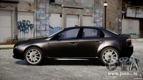 Alfa Romeo 159 Li v2 für GTA 4 Rückansicht