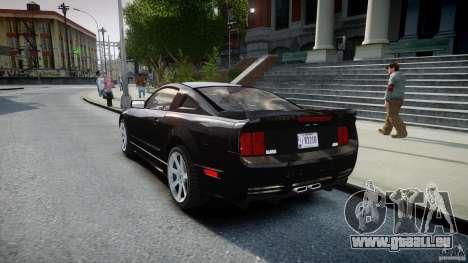 Saleen S281 Extreme Unmarked Police Car - v1.2 pour GTA 4 Vue arrière de la gauche