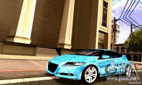 Honda CR-Z 2010 V2.0 für GTA San Andreas Innenansicht