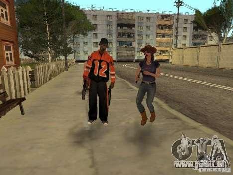 Jede Gruppe von Player 3.0 für GTA San Andreas