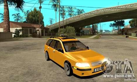 Volvo V40 pour GTA San Andreas vue arrière