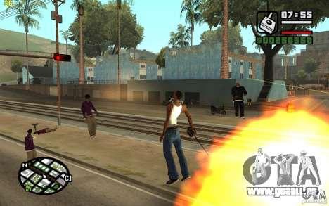 God mod CLEO pour GTA San Andreas