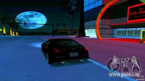 Nissan 350Z JDM für GTA San Andreas obere Ansicht