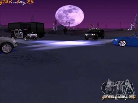 Éclairage au néon-néon dans GTA San Andreas pour GTA San Andreas troisième écran
