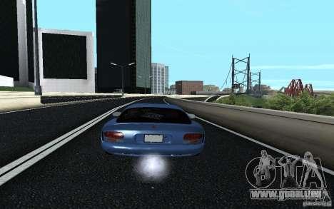 Dodge Viper GTS Monster Energy DRIFT für GTA San Andreas linke Ansicht