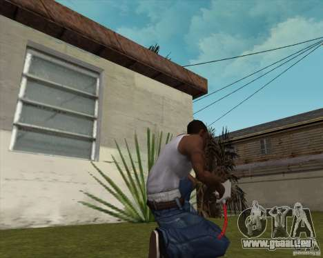 Défibrillateur pour GTA San Andreas deuxième écran