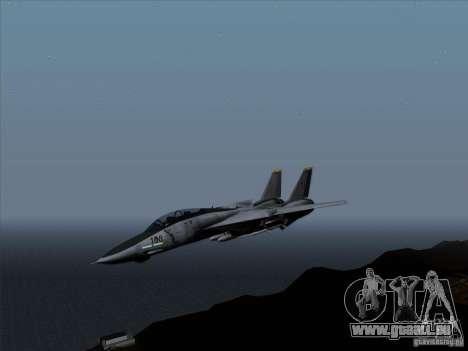 F-14 Tomcat Warwolf für GTA San Andreas linke Ansicht