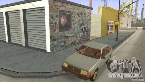 Film-Songs auf der Gitarre für GTA San Andreas siebten Screenshot