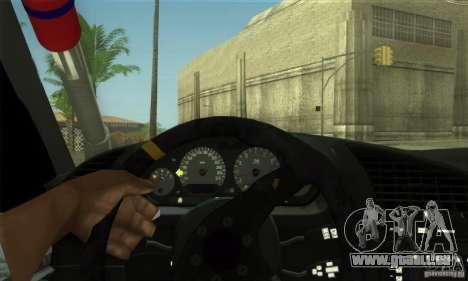 BMW E36 Urban Perfomance Garage pour GTA San Andreas vue de côté
