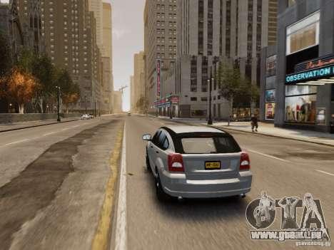 Dodge Caliber pour GTA 4 roues