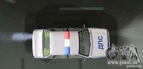 VAZ 2115 Polizei DPS für GTA San Andreas Seitenansicht
