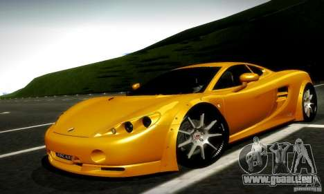 Ascari KZ1R Limited Edition für GTA San Andreas linke Ansicht