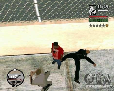 Dwayne The Rock Johnson pour GTA San Andreas troisième écran