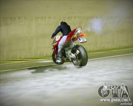 Honda CBR600RR 2005 für GTA San Andreas Rückansicht