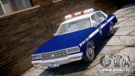 Chevrolet Impala Police 1983 [Final] pour GTA 4