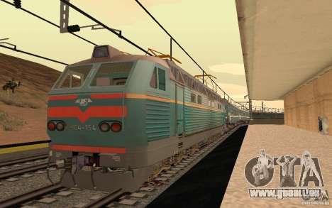 Eisenbahn mod II für GTA San Andreas fünften Screenshot
