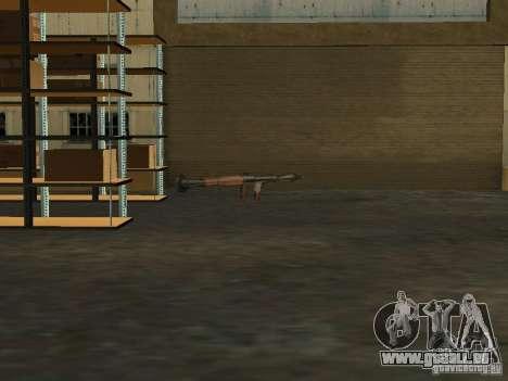 Renouvellement de la base militaire sur les quai pour GTA San Andreas cinquième écran