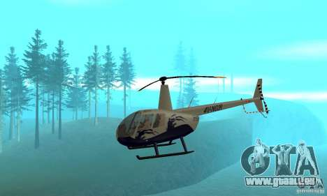 Robinson R44 Raven II NC 1.0 Haut 4 für GTA San Andreas