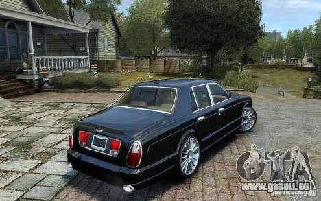 Bentley Arnage T pour GTA 4 est une gauche