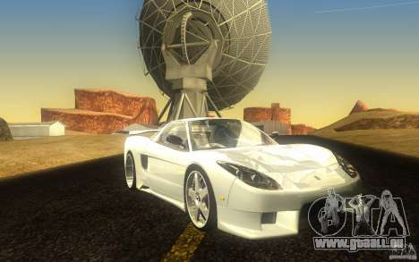 Honda NSX VeilSide Fortune pour GTA San Andreas laissé vue