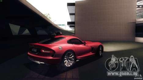 Dodge SRT Viper GTS 2012 V1.0 pour GTA San Andreas vue de droite