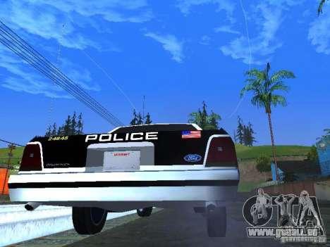Ford Crown Victoria LTD 1992 LSPD für GTA San Andreas rechten Ansicht
