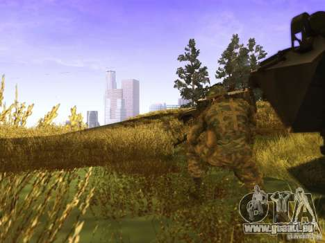 Une peau de soldat russe pour GTA San Andreas deuxième écran